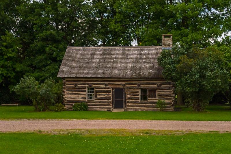Hyde Log Cabin