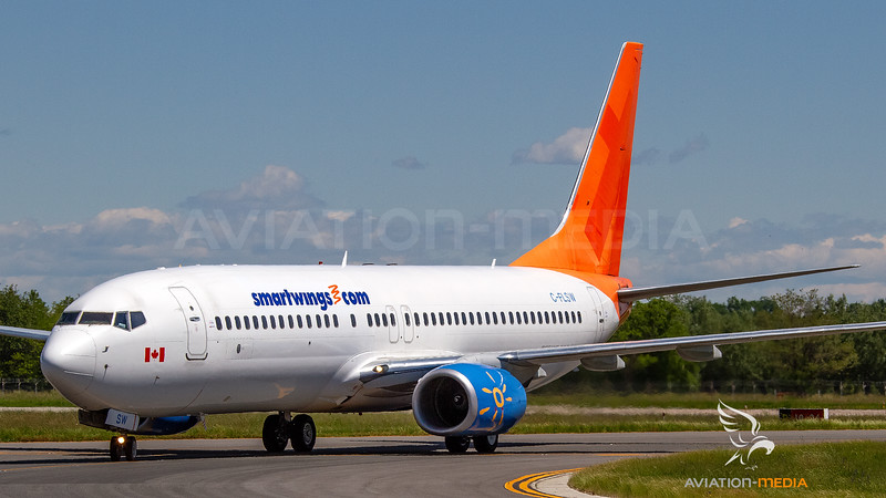 Smartwings (basic Sunwing livery) Boeing B737-800 C-FLSW