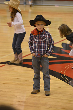 FWC Varsity Basketball and Rodeo @ Halftime