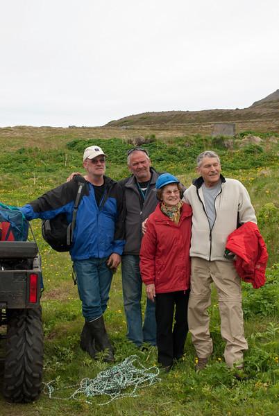 Gunnar, Rúbbi, Þórunn og Hilmar