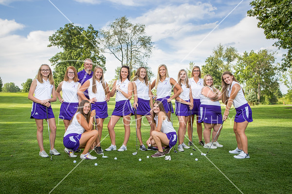 Girls Golf Team 2017