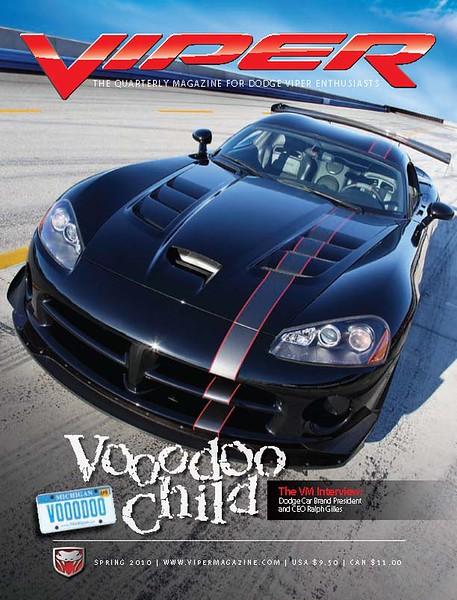 Viper Magazine Spring 2010 cover photo