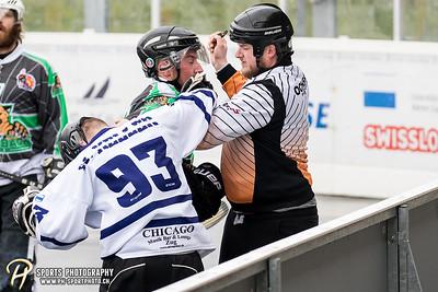 Streethockey 1. Liga: Zug Cormorants - SHC Erlinsbach