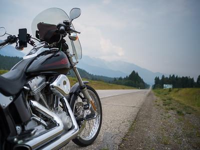 MOTORCYCLE ADVENTURES ACROSS CANADA