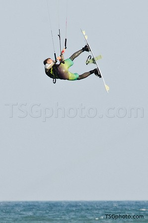Kite sailing - Monday September 26 2011