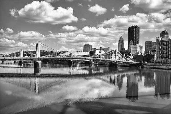 Pittsburgh Strip District B&W Set
