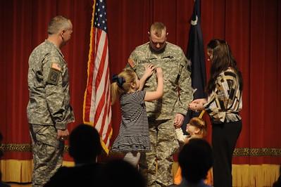 ROTC Major Stricklen Promotion