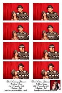 Wedding Alliance Wedding Fayre at The Bodmin Jail 15-11-15