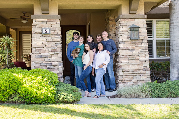Hendrick Family Porch Portraits