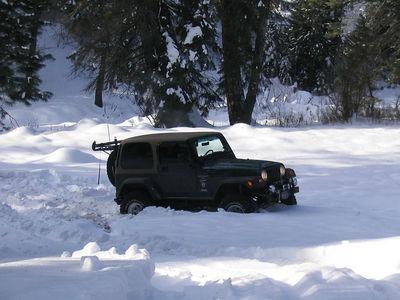 18 Dec 05 Snow Wheeling