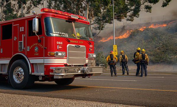 Silverado: Wind-Driven Wildfire Burns 7,200+ Acres, Forces 60,000 To Evacuate