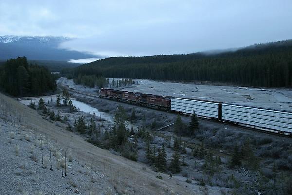CP Kicking Horse Pass 2005