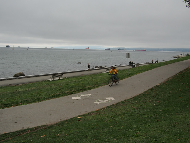 Oct. 19/13 - English Bay, Vancouver
