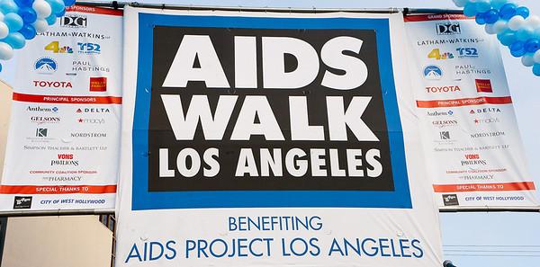 AIDS Walk Los Angeles 2011 Press Select shots