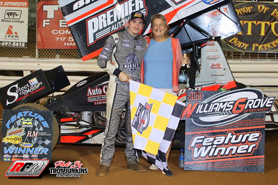 Williams Grove Speedway - 7/30/21 - Troy Junkins