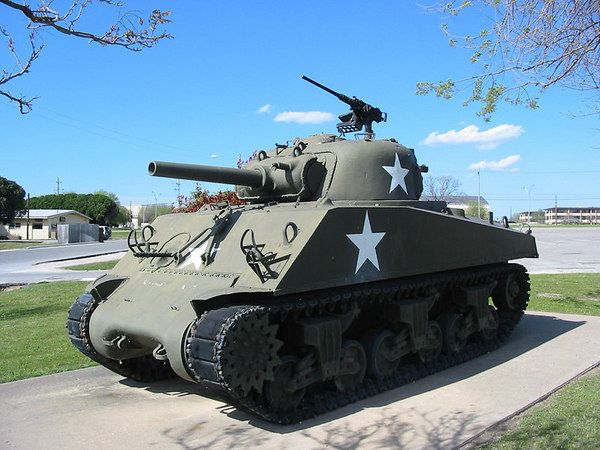 M4A3 105mm - 3ID Museum, Ft. Hood, TX