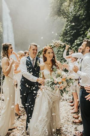 Intimate wedding of Kris&Kirsty