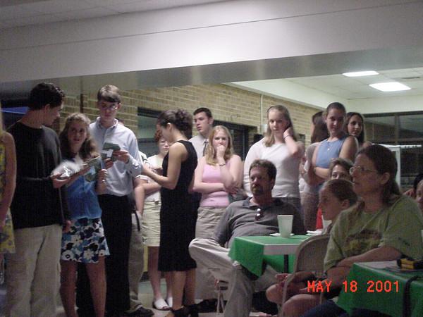 2001-05-18: Spring Banquet