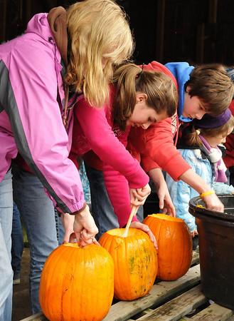 Manchester Pumpkin Carving Festival 2010