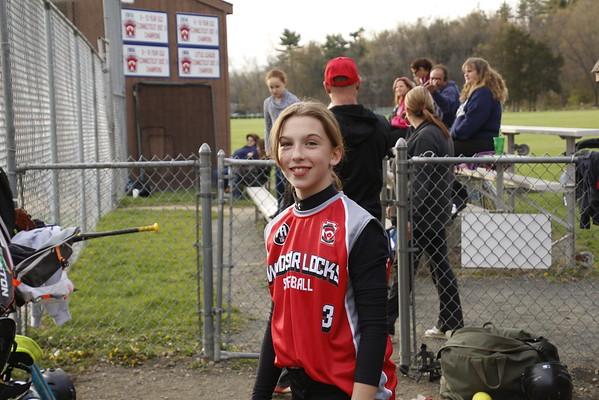 Girl's Softball 2016 Season