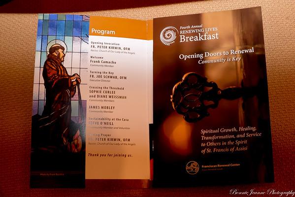Renewing Lives Breakfast 10-28-2015