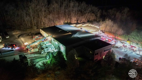 Champion Recycling - East Caln - Commercial Fire
