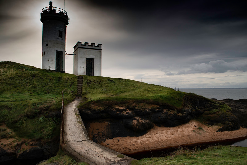 Elie lighthouse, Fife, Scotland.