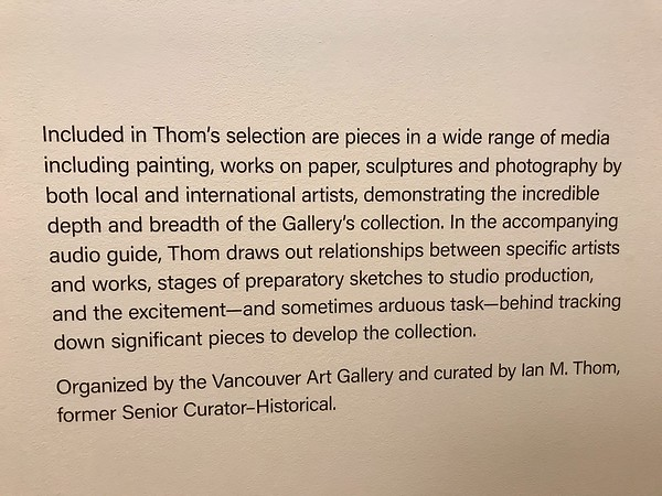 A Curator's View: Ian Thom Selects