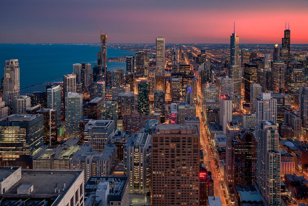 Long Weekend in Chicago John Hancock Building 360