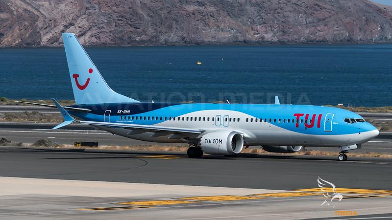 TUI / Boeing B737 Max 8 / SE-RNB