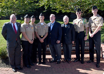 Annapolis JROTC Flag Raising Ceremony