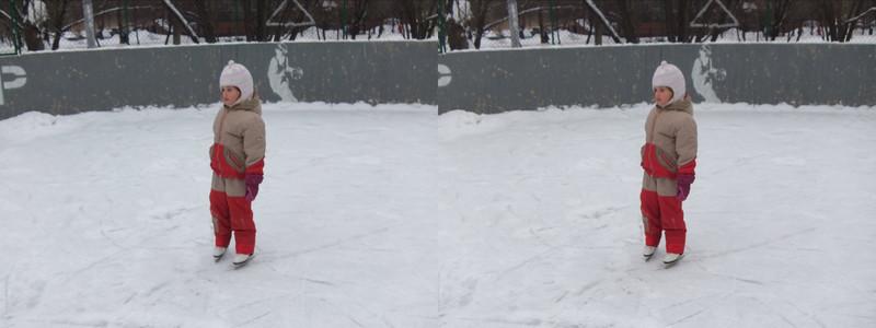2011-01-15, Olya on a skating rink (3D RL)