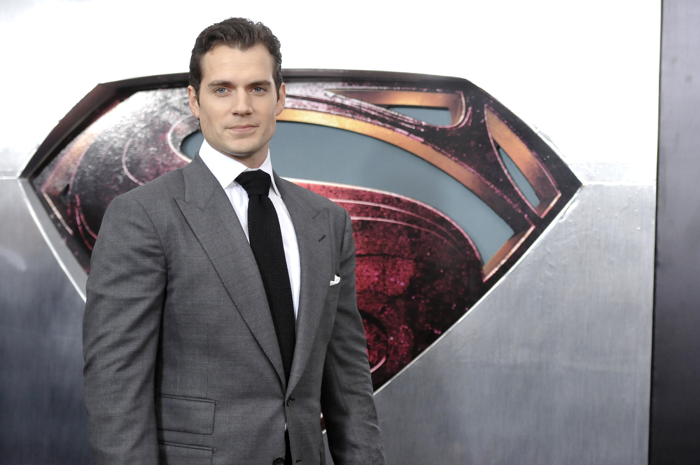 """. Actor Henry Cavill attends the \""""Man Of Steel\"""" world premiere at Alice Tully Hall on Monday, June 10, 2013 in New York. (Photo by Evan Agostini/Invision/AP)"""
