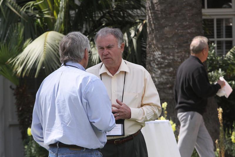 David Morris (L), CEO, EcoVerdance; and Bill Jones, CEO, Accelegrow Technologies