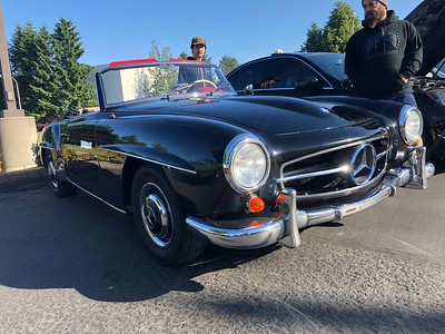 Mercedes-Benz Day at Cars & Coffee - June 1, 2019