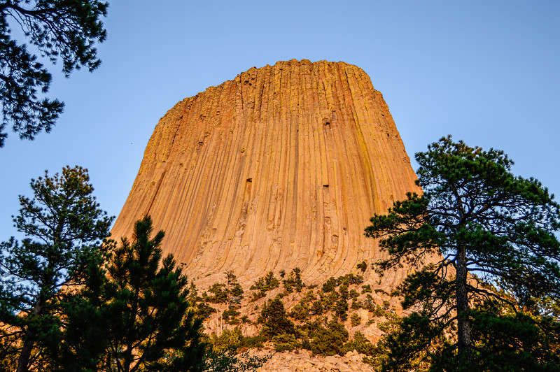 Devils Tower at Sunset