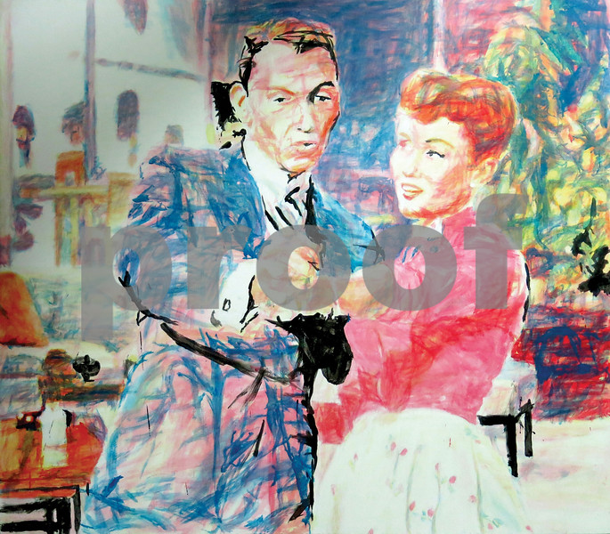 Tyler Museum of Art's summer blockbuster stars the cinema paintings of Texas artist Ed Blackburn