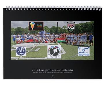 2017 Hungary Lacrosse Calendar (International Lacrosse Showdown)