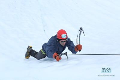 July 28 Ice Climb with Scott