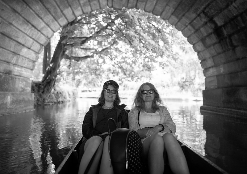 Punting on the Cherwell, Oxford (Aug 2021)