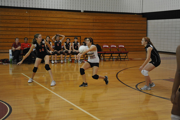 Quince Orchard 2009 Girls JV Volleyball