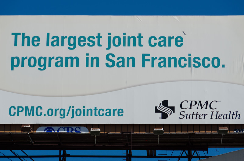"Of course they have good ""joint"" care in SF!"
