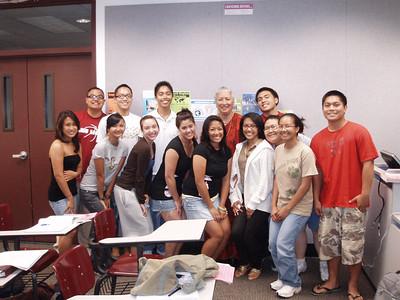 Filipino American Experience Class Fall 2007