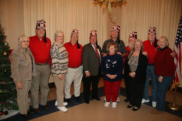 2015 January - Putnam County Shrine Club Installation