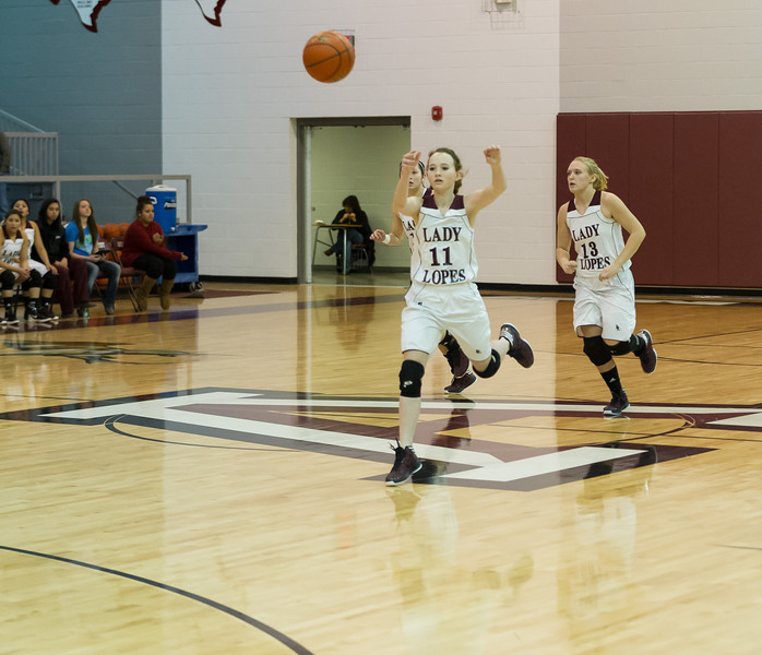 Lady Lopes Varsity vs Muleshoe, 1-11-2013
