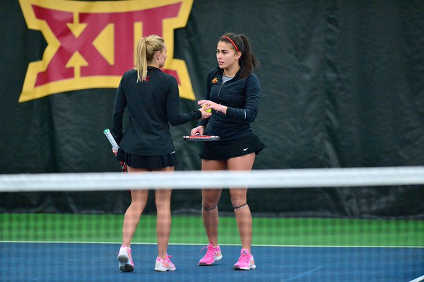 ISU Tennis vs Oklahoma 02/22/15