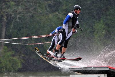 Mad-City Ski Team - Aug 07, 2009 - Team Jump