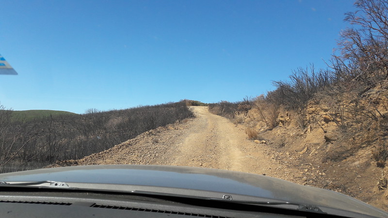 Wildfire burnt thousands of acres.