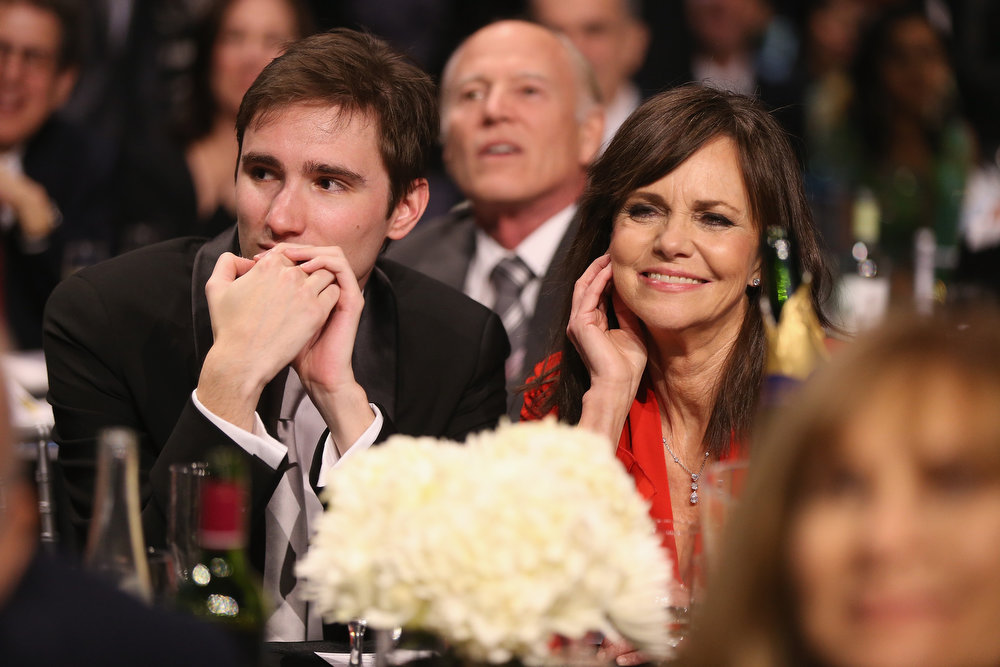 Description of . Actress Sally Field (R) and Samuel Greisman attend the 18th Annual Critics' Choice Movie Awards held at Barker Hangar on January 10, 2013 in Santa Monica, California.  (Photo by Christopher Polk/Getty Images for BFCA)