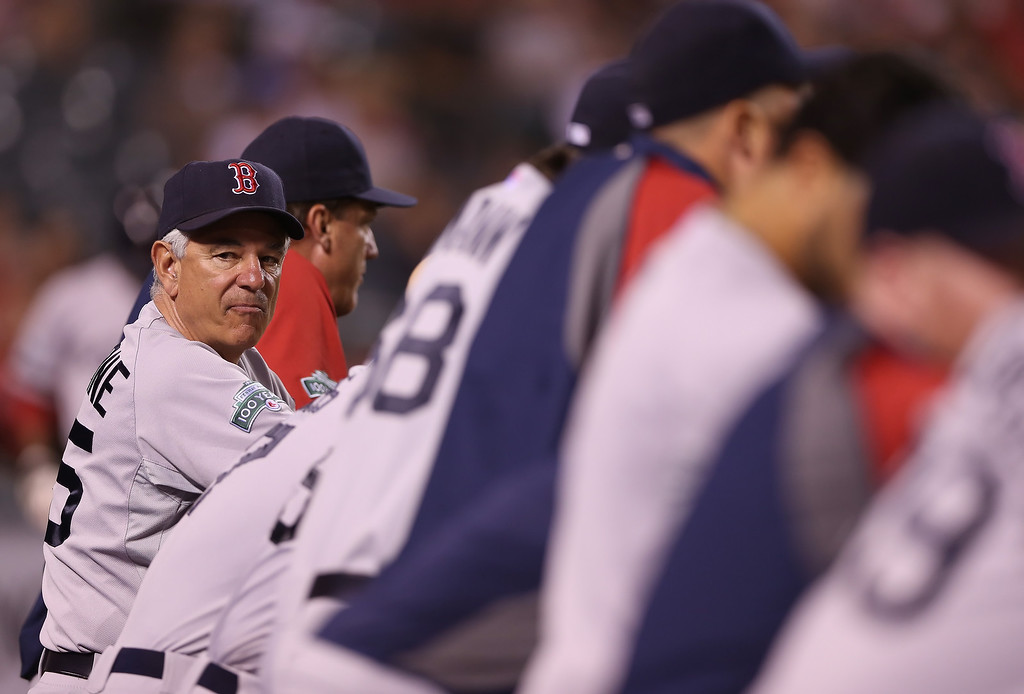 """. <p>10. (tie) BOBBY VALENTINE <p>Guess we know now why last year�s Red Sox stunk on ice. (unranked) <p><b><a href=\'http://nesn.com/2013/10/bobby-valentine-believes-he-could-have-also-led-red-sox-to-world-series-this-season/\' target=\""""_blank\""""> HUH?</a></b> <p>    (Jeff Gross/Getty Images)"""